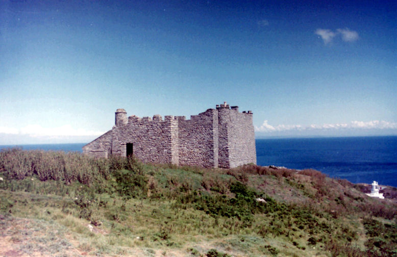 Marisco Castle, Isle of Lundy, Devon