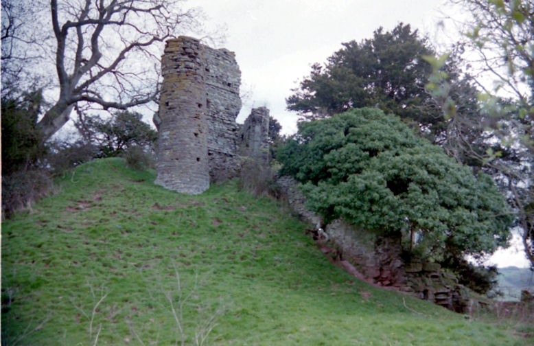 Snodhill Castle, Herefordshire